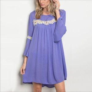 Hayden Bell Sleeve Tunic Dress